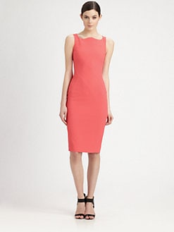 Antonio Berardi - Scalloped Neck Dress
