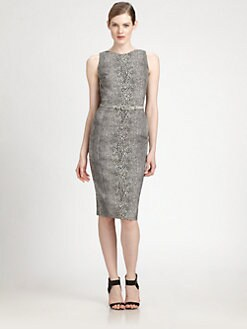 Antonio Berardi - Belted Printed Dress