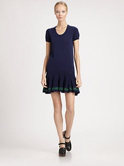 Sacai Luck - Drop-Waist Dress