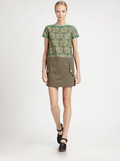 Sacai Luck - Lace Detail Dress