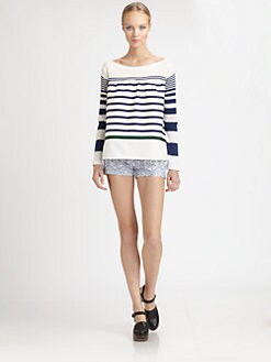 Sacai Luck - Striped Top