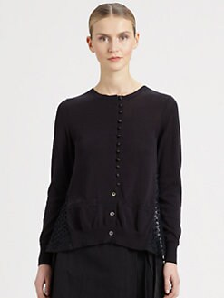 Sacai - Sheer-Back Top