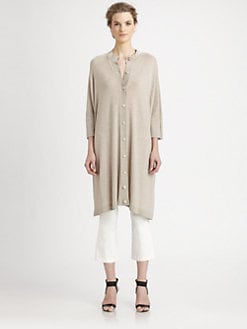 The Row - Cashmere/Silk Thore Cardigan