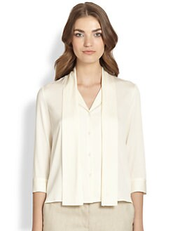 The Row - Rony Stretch Georgette Top
