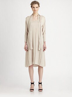 The Row - Zana Satin Dress