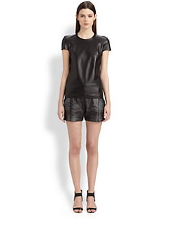 Ohne Titel - Leather Top