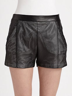 Ohne Titel - Leather Shorts