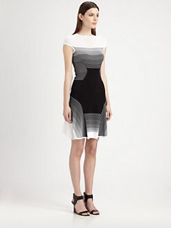 Ohne Titel - Ombré Stripe Dress