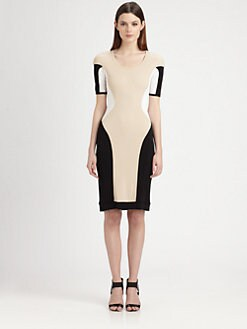 Ohne Titel - Block Dress