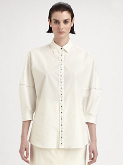 Bottega Veneta - Studded Blouse