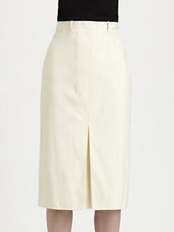 Bottega Veneta - Inverted Pleat Skirt