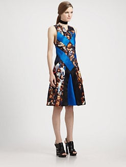 Proenza Schouler - Diamond Flare Protestor Dress