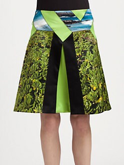 Proenza Schouler - Diamond Pleated Skirt