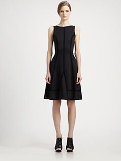 Proenza Schouler - Crochet-Trimmed Dress