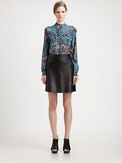 Proenza Schouler - Pool Print Blouse