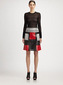 Proenza Schouler - Cashmere & Silk Lace Pullover