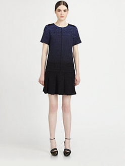 Proenza Schouler - Ombr&eacute; Boucl&eacute; Dress