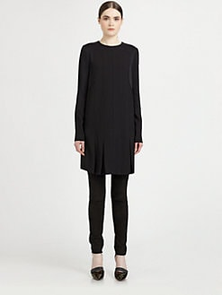 Proenza Schouler - Pleated Paneled Dress