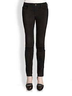 Proenza Schouler - Suede Skinny Pants