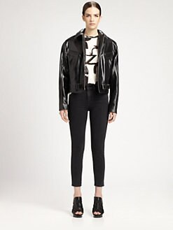 Proenza Schouler - Leather Biker Jacket