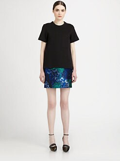 Proenza Schouler - Neoprene Pocket Tee