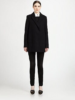 Proenza Schouler - Wool-Blend Swing-Back Coat