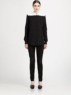 Proenza Schouler - Colorblock Cotton Shirt