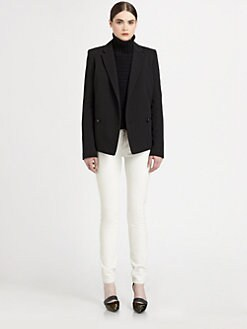 Proenza Schouler - Textured Double-Breasted Blazer