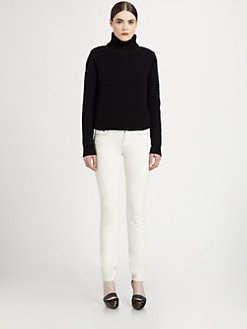 Proenza Schouler - Cashmere Chunky-Knit Turtleneck Sweater