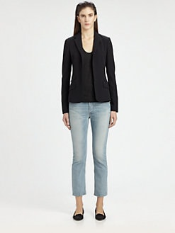 The Row - Carene New Schoolboy Silk Blazer