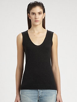 The Row - Iana Cashmere & Silk Sleeveless Sweater