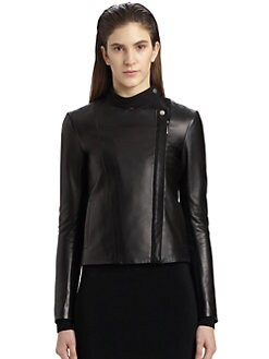 The Row - Brilly Leather Moto Jacket