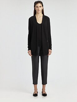 The Row - Celeste Cashmere & Silk Wrap Cardigan