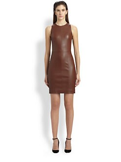 The Row - Sharlow Leather Dress