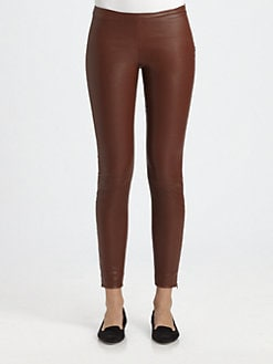 The Row - Notterly Leather Leggings