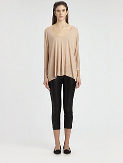 The Row - Marabo Silk Jersey Top