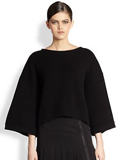 Bottega Veneta - Wide-Sleeved Ribbed Cashmere Sweater