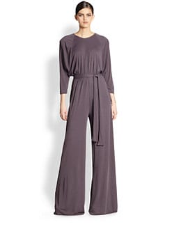 Bottega Veneta - Wide-Leg Jersey Jumpsuit