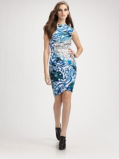 Emilio Pucci - Daphne Ruched Jersey Dress