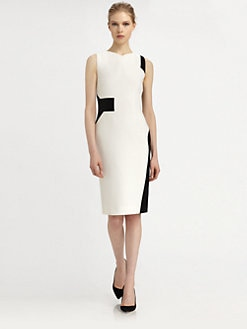 Antonio Berardi - Wool Geometric Dress