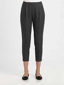 The Row - Torac Cropped Wool Pants