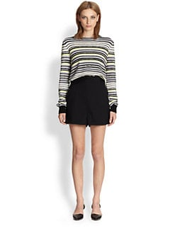Proenza Schouler - Striped Crewneck Sweater