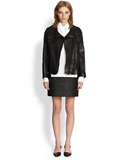 Proenza Schouler - Leather Moto Jacket