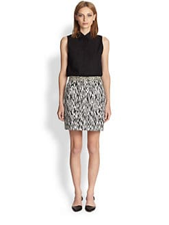 Proenza Schouler - Paneled Sleeveless Shirt