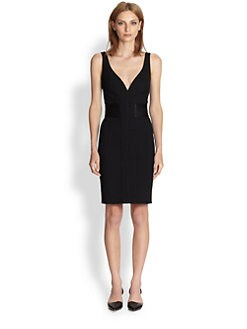Proenza Schouler - Plunge-Neck Dress