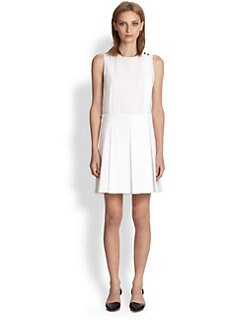Proenza Schouler - Sleeveless Pleated Dress