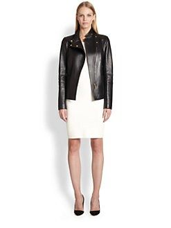 The Row - Jacton Leather Jacket