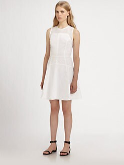 Proenza Schouler - Seamed Crewneck Dress