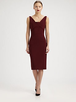 Antonio Berardi - Stretch Crepe Dress
