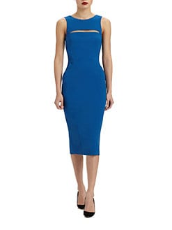 Antonio Berardi - Cutout Stretch Crepe Dress